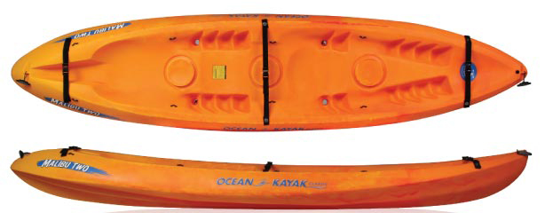 Ocean Kayak 12 Feet Malibu Two Tandem Kayak For Sale